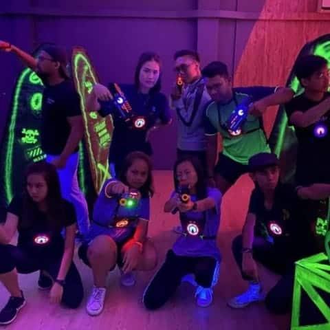 Affordable Laser tag - Team Building Singapore
