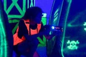 laser tag tips - crouch walk