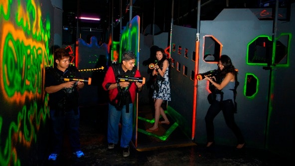 Affordable Laser tag - Home Team NS