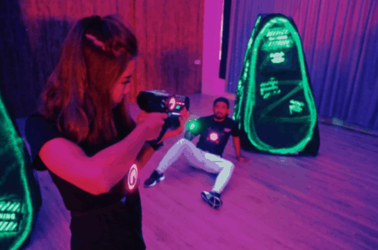 Takeaways Laser Tag - Watch Your Own Back