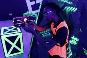 laser tag techniques - position