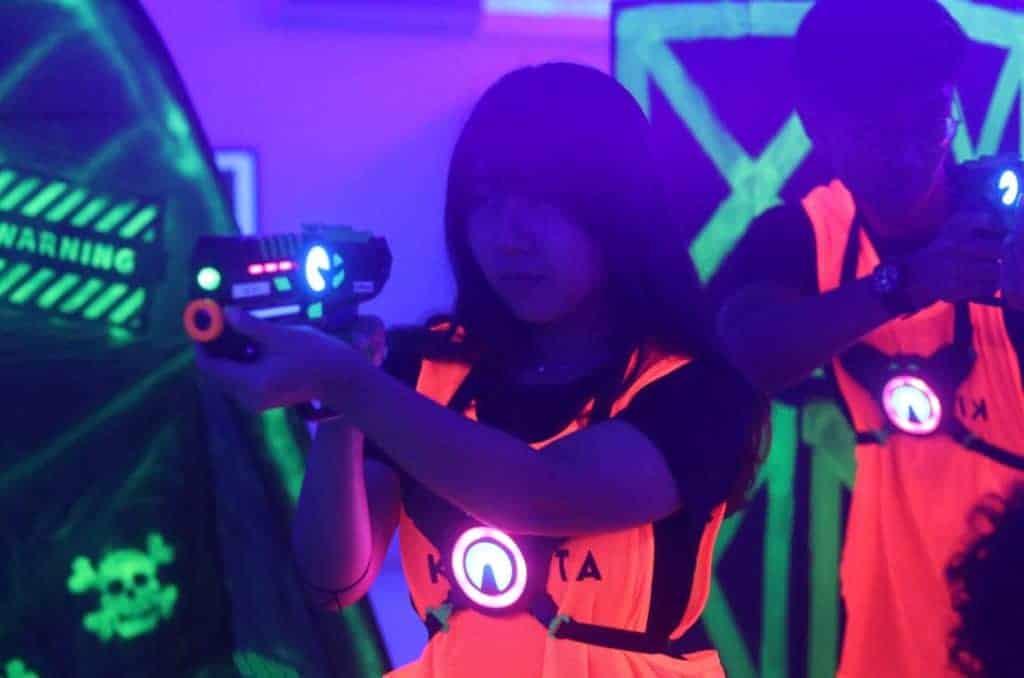 Laser Tag Fun Facts - non-contact game
