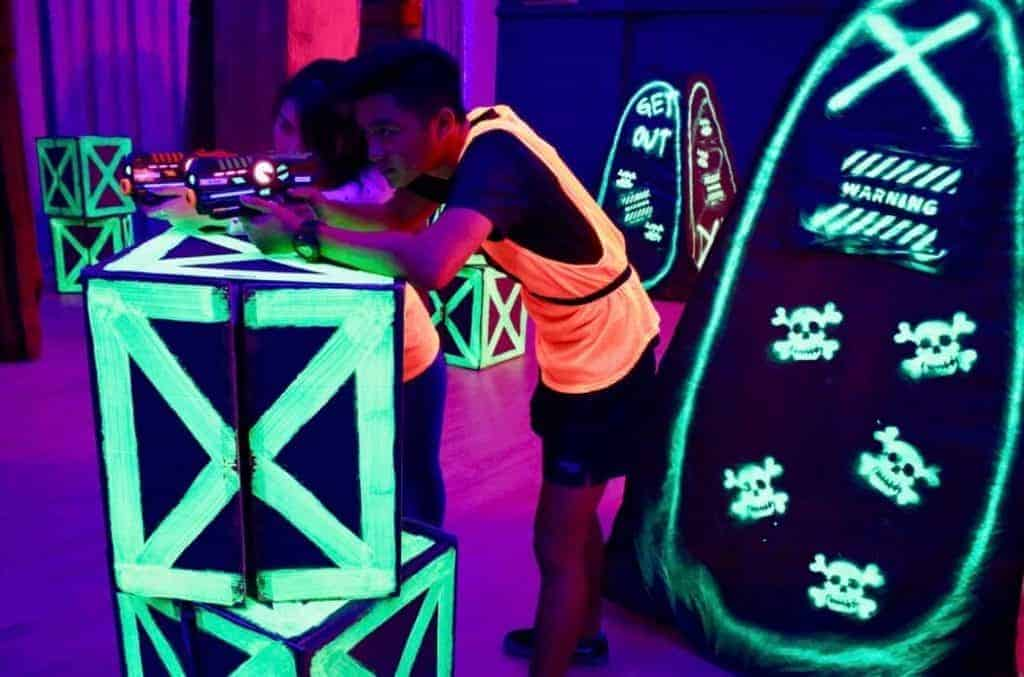 laser tag fun facts - light-weight and easy