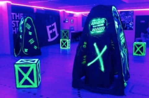 laser tag techniques - arena